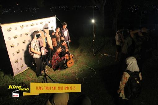 Foto Bersama beberapa anggota Kine Klub UMM