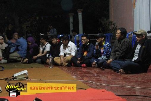 Suasana sharing anggota-anggota lawas